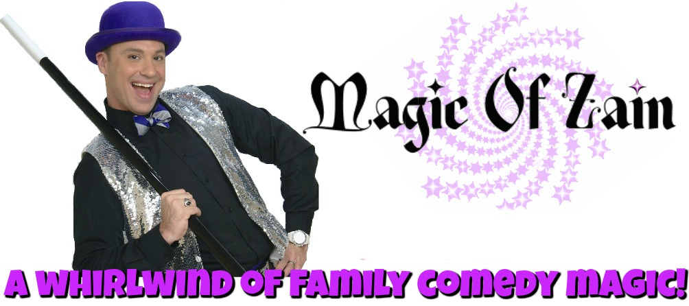 Zain the magician for kid birthday party