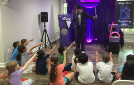 entertainers for kids party performing ashburn virginia