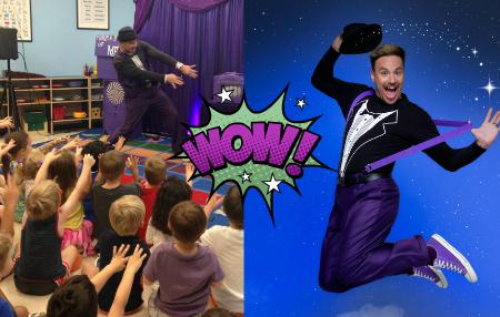 Zain magician kids performer for hire
