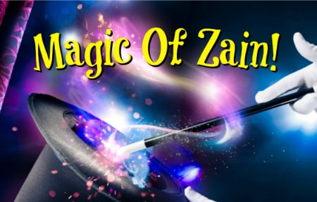 Magic Of Zain, birthday party entertainment