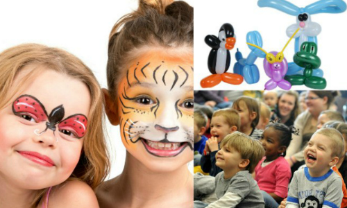 kids party entertainment packages