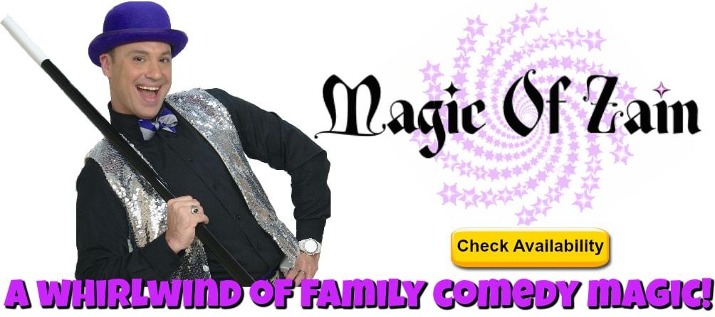 Magic Of Zain, Fairfax, magician birthday party northern virginia