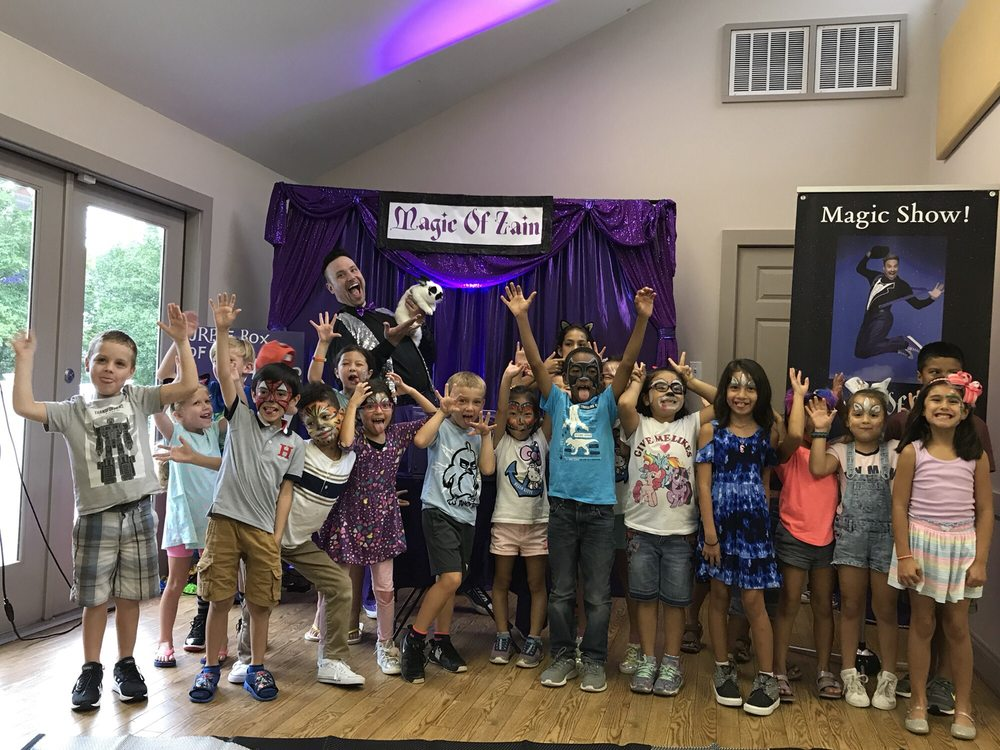 kids magic party workshop