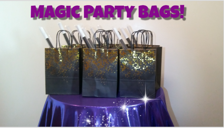 magic party bags for kids