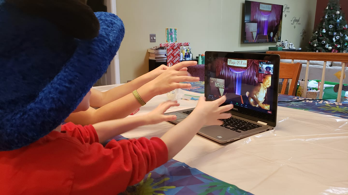 online magician for kids party